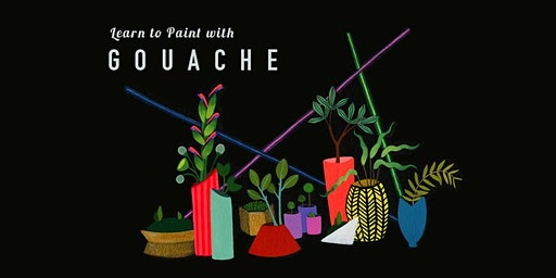 learn to paint with gouache