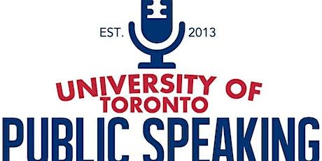 UT Public Speaking Competition tickets