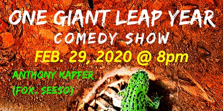 One Giant Leap Year Comedy Show tickets