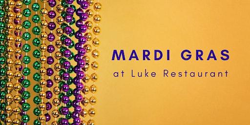 Mardi Gras at Luke Restaurant | 2.20.20