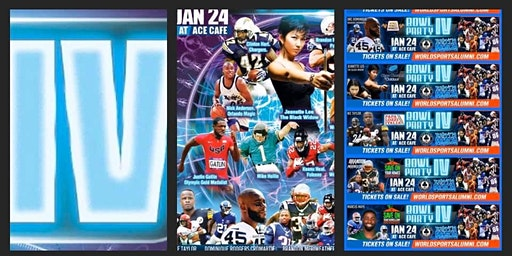 Celebrities Pro Bowl Party IV by the WSA World Sports Alumni