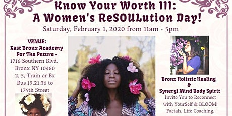 Know Your Worth III: A Women's ReSOULution Day tickets