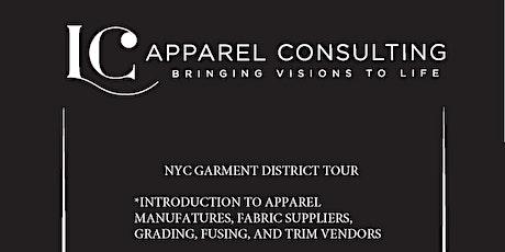 NYC GARMENT DISTRICT TOUR - FASHION WEEK EDITION  tickets
