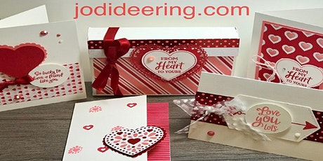 Valentine's Day Card Class with Kit tickets