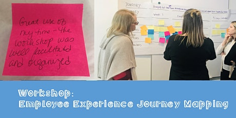 Workshop: Employee Experience Journey Mapping tickets