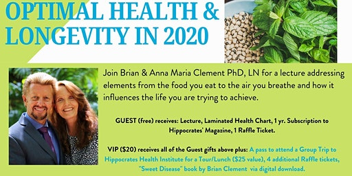 Optimal Health & Longevity in 2020