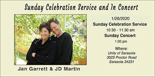 Jan Garrett & JD Martin  Concert