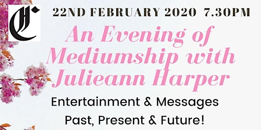 Evening of Mediumship with Julieann Harper