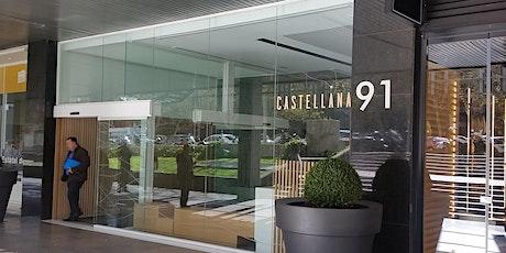 Sesiones de asesoramiento empresarial presenciales en Madrid entradas