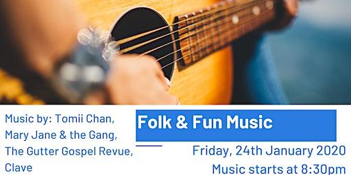 Folk & Fun Music Night