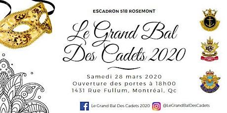 Le Grand Bal des Cadets 2020 tickets