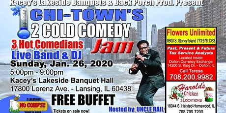 Uncle Rail's 2 Cold Comedy Jam tickets