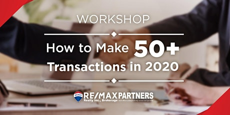 Workshop-The Secret of Marking 50 Transactions Per Year tickets