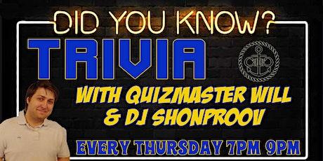 Thursday Night Trivia 2020!! tickets