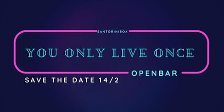 You Only Live Once - Glow Indie Fest ° Openbar °  ingressos