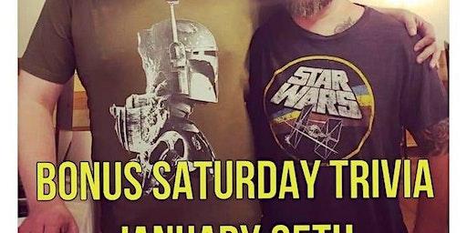 StarWars Bonus Saturday Trivia