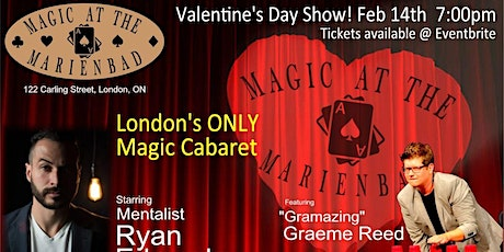 Magic at the Marienbad February 14th Valentine's Day show tickets