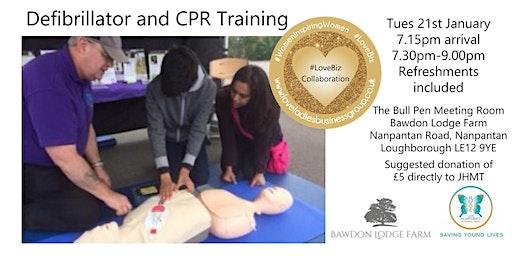Defibrillator & CPR Training Loughborough 21.1.2020