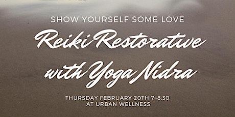 Reiki Restorative with Yoga Nidra tickets