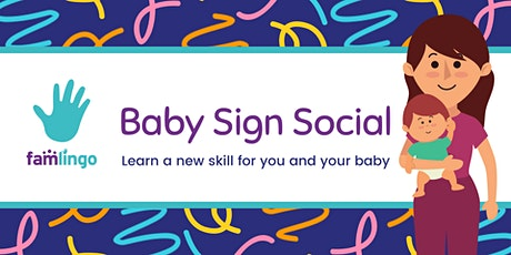 Baby Sign Social tickets