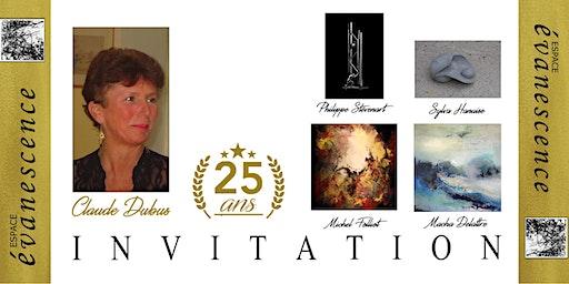 exposition des 25 ans de la galerie