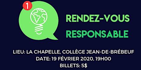 Rendez-Vous Responsable! tickets