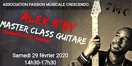 Atelier GUITARE (MASTER CLASS) à Sucy en Brie (94) - Alex K-By (Places limitées!) tickets