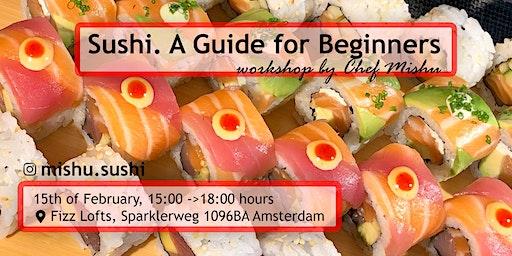 Sushi  Workshop with Chef Mishu @ Fizz Lofts