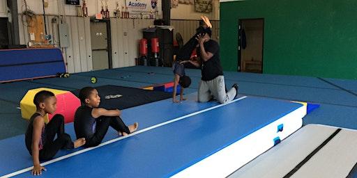 Boys Gymnastics Class