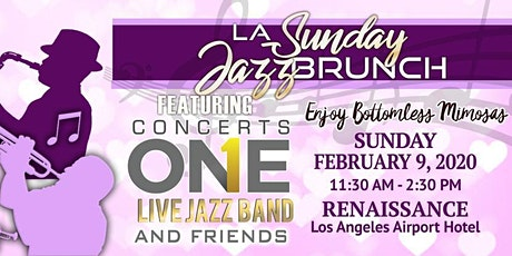 LA Sunday Jazz Brunch February Valentines Edition tickets