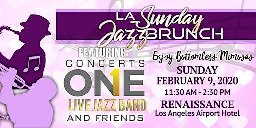 LA Sunday Jazz Brunch February Valentines Edition