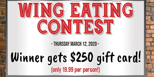 Chicken Wing Eating Contest