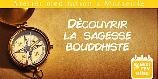 Atelier méditation : découvrir la sagesse bouddhiste