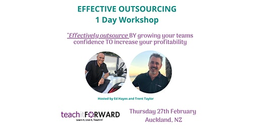 Effective Outsourcing - 1 Day Workshop