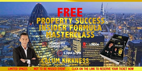 FREE Property Success Insider Investment Masterclass tickets