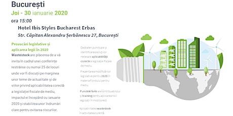 Provocările legislației fiscale de mediu în 2020 - Sesiunea 2 tickets