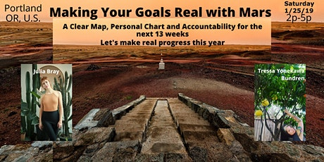 Making  Your Goals Real with Mars tickets