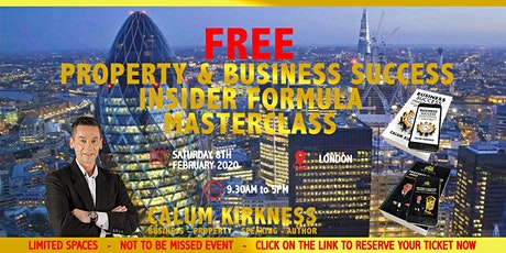 FREE Property Investment and Business Success Masterclass tickets