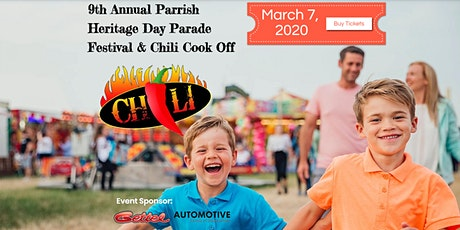 Parrish Heritage Day Parade Festival & Chili Cook Off tickets