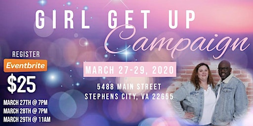 Girl Get Up Campaign