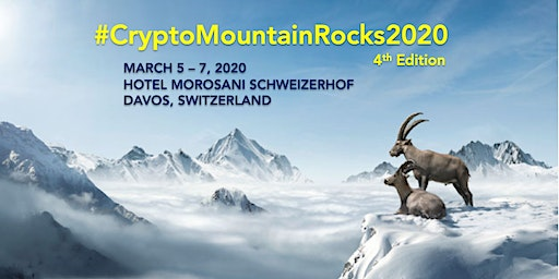 CryptoMountain Rocks Edition 4 in Davos