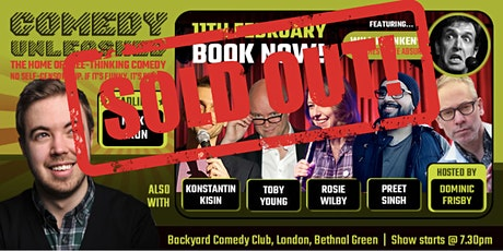 Nick Dixon & Konstantin Kisin at Comedy Unleashed tickets