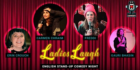 Ladies Laugh - English Stand-Up Comedy Night Tickets