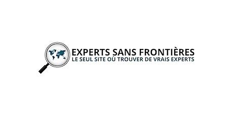 Experts Sans Frontières - Inaugurations de notre plateforme Unique - Brux. billets