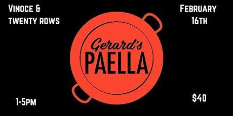 Vinoce & Twenty Rows Paella Party tickets