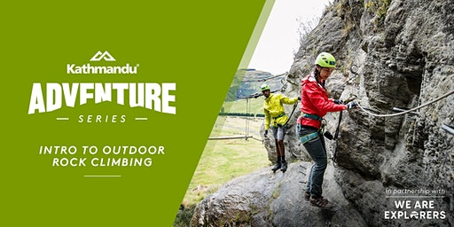 SOLD OUT// Adventure Series: Intro to Outdoor Rock Climbing // SYD