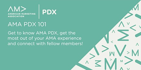AMA PDX 101 tickets