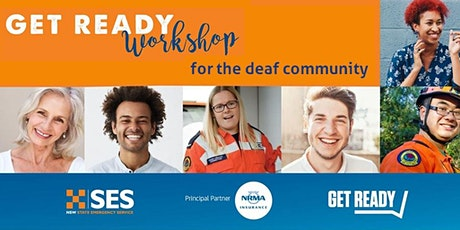 Get Ready for emergencies - free workshop for the deaf and HoH tickets