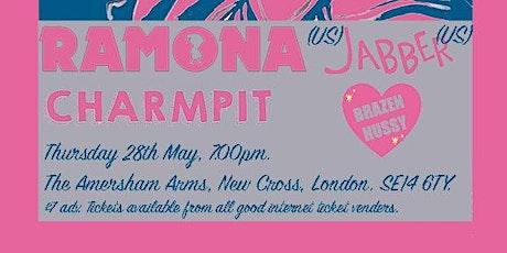 TTW presents Ramona (US), Jabber (US), Charmpit and Brazen Hussey tickets