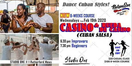 Dance Casino (Cuban Salsa) Beginners / 8-weeks course [Term 1] tickets